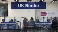 Gatwick border control