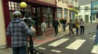 On the set of Pobol y Cwm