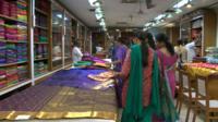 Nalli Silks shop