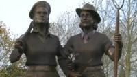 Land Girls monument