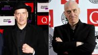 Wilko Johnson at the 2014 Q Awards and at the same event in 2010