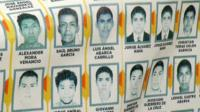 Poster of some of the missing students