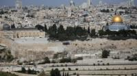 Jerusalem, with the Al-Aqsa Mosque in sight
