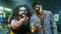 Ben Zand dressed as a zombie