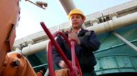 Gas worker