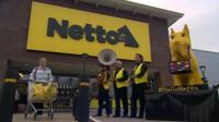 Discount supermarket Netto