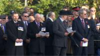 Welsh service of remembrance in Cardiff