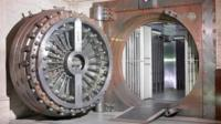 Vault at Midland Bank, copyright Peter Dazeley