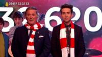 Sir Terry Wogan and Nick Grimshaw