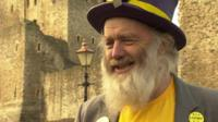 "Monster Raving Loony candidate Hairy Knorm Davidson wants people to ""have fun"""