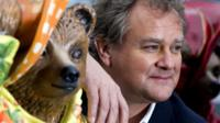 Paddington Bear and Hugh Bonneville