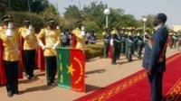 Michel Kafando, interim president, Burkina Faso