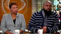 Lesley McSpadden and Michael Brown Sr, parents of Michael Brown