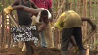 Grave in Sierra Leone