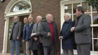 "Nine of the original ""hooded men"" were in Dublin recently to hear a call for the Irish government to take the UK to the European Court"