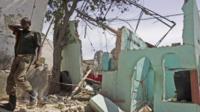 Bomb blast in the Somali capital, Mogadishu