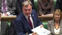 Ed Balls MP with OBR report