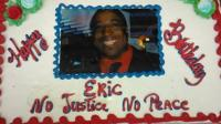 Cake with Eric Garner's face on