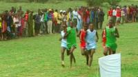 Race at 'Maasai Olympics'