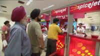 Spicejet queue
