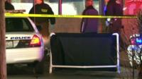 Scene of where St Louis teen was shot dead