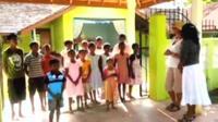 Kim Peatfield in Sri Lanka
