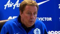 QPR boss Harry Redknapp
