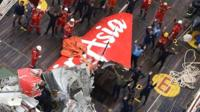 AirAsia QZ8501 plane tail is recovered