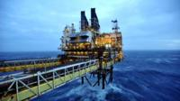 Section of the BP ETAP (Eastern Trough Area Project) oil platform in the North Sea