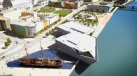 Artist's impression of V&A Dundee