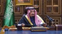The new King of Saudi Arabia