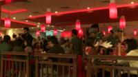 US fast food restaurant in Mumbai