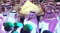 The funeral of King Abdullah of Saudi Arabia