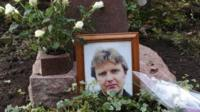 The grave of Alexander Litvinenko