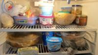 Contents of a fridge