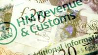 Tax return graphic
