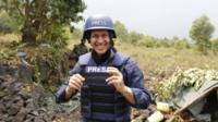 Al-Jazeera journalist Peter Greste