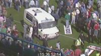 Ambulance footage was shown at the Hillsborough inquests