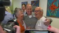 Peter Greste and his parents