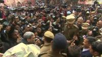 Media swam around Arvind Kejriwal