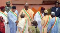 Parliamentarians in Niger