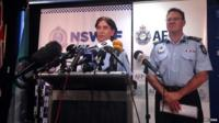 New South Wales police news conference