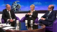 Nick Gibb MP, Angela Eagle MP and Nick Robinson review PMQs on Daily Politics