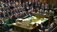 PMQs where party leaders clashed over HSBC revelations