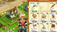 Screenshot of Farmville