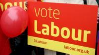 Labour placard