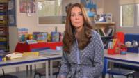 Kate highlights kids 'mental health