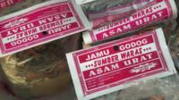 Jamu labels