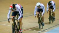 World Track Championships 2015: Brits off pace in Team Sprint