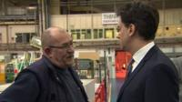 A disgruntled worker speaks to Ed Miliband